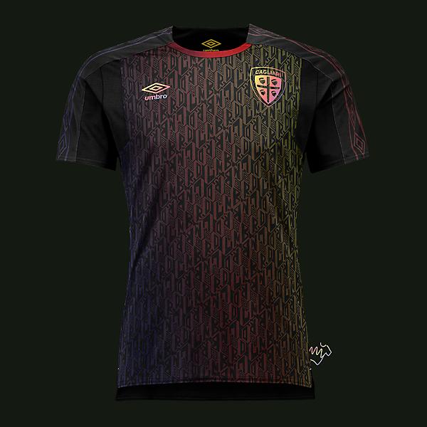 Cagliari third kit by @Umbro