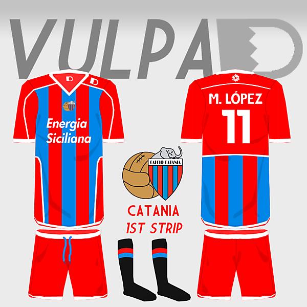 Calcio Catania Home Shirt