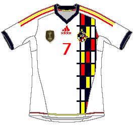 Spain Adidas Away