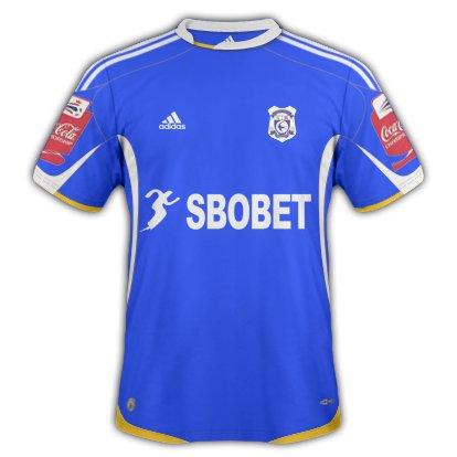 Cardiff City Home kit