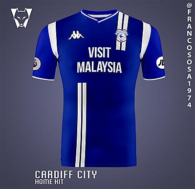 Cardiff City Kappa home
