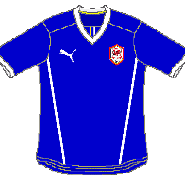Cardiff City Puma Away