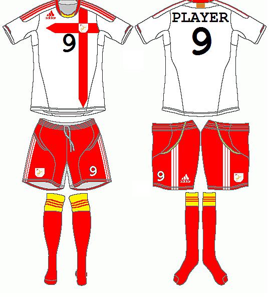 Catalonia Adidas Away Kit