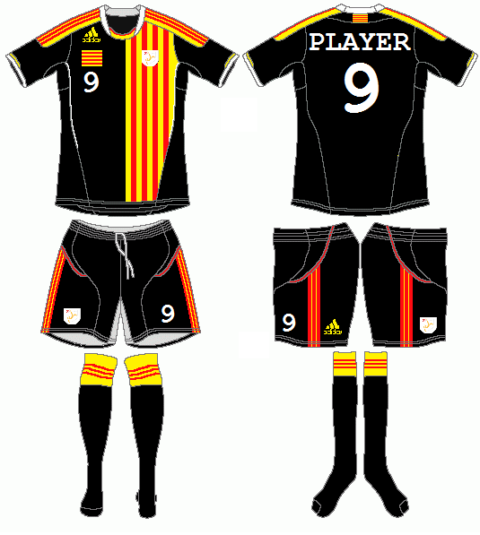 Catalonia Adidas Home Kit