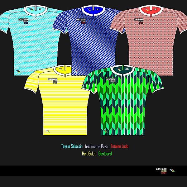 Corstorph Design Sport 01314 Templates