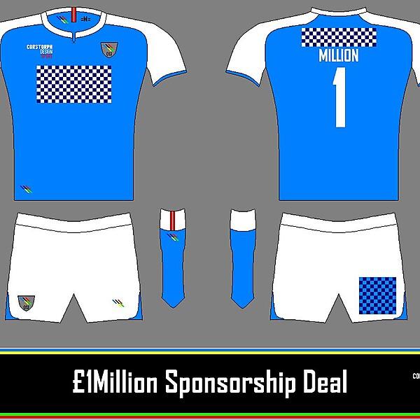 £1,000,000 Sponsorship Deal Concept