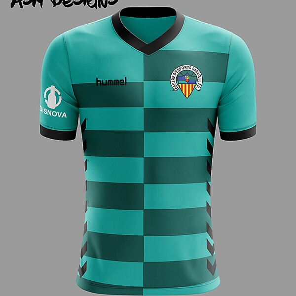 CE Sabadell 2019 Hummel Alternate Kit