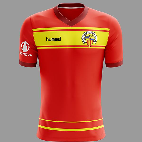 CE Sabadell 2019 Hummel Away Kit