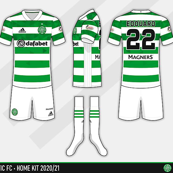 Celtic FC - Home 2020/21