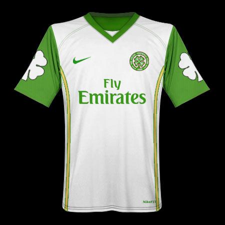 Celtic Nike Shamrock Away