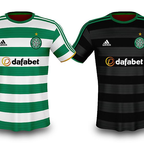 Celtic x Adidas 2020/21 Concept Kits