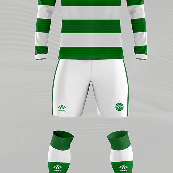 Celtic x Umbro Concept Home Kit