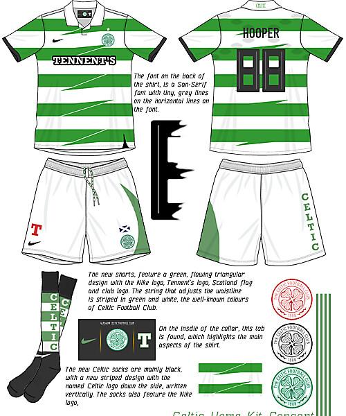 Celtic Home kit Concept