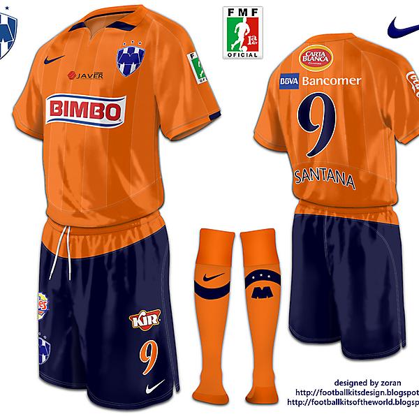 CF Monterrey fantasy third
