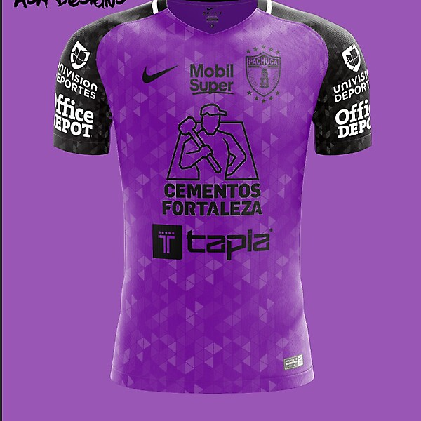 C.F. Pachuca Nike 2018 Away Kit