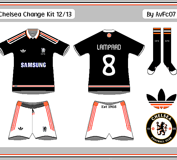 Chelsea First & Change Kits