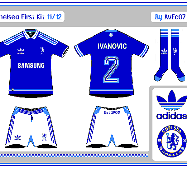 Chelsea First And Change Kits