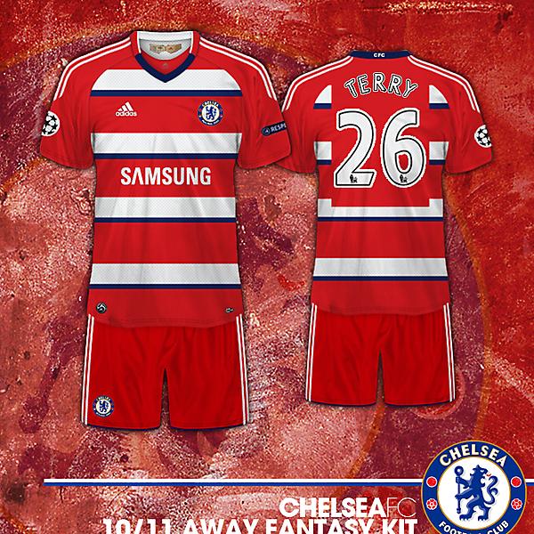 Chelsea Fc 10/11 Away Fantasy