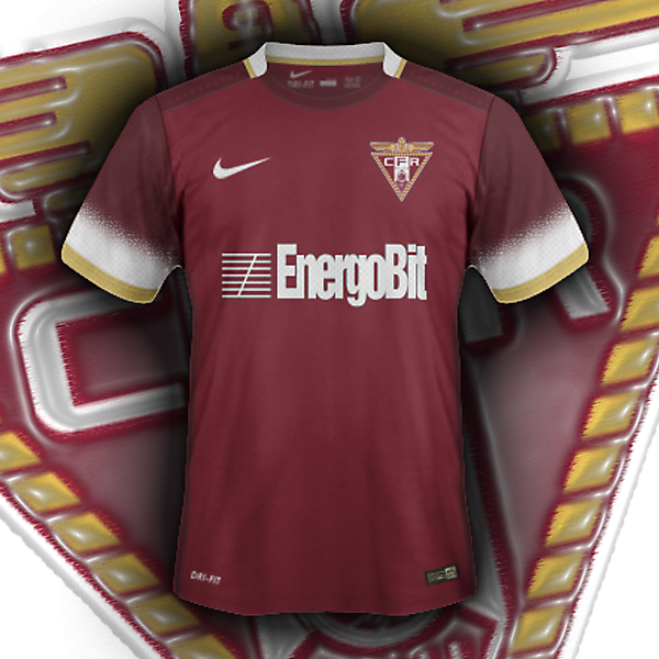 CFR Cluj home (based on my crest redesign for CRC)