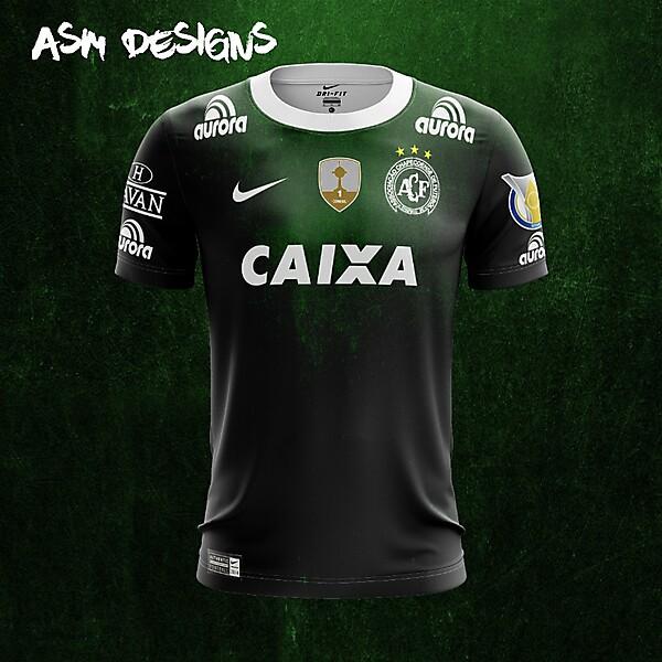 Chapecoense  Nike 2018 Home Kit