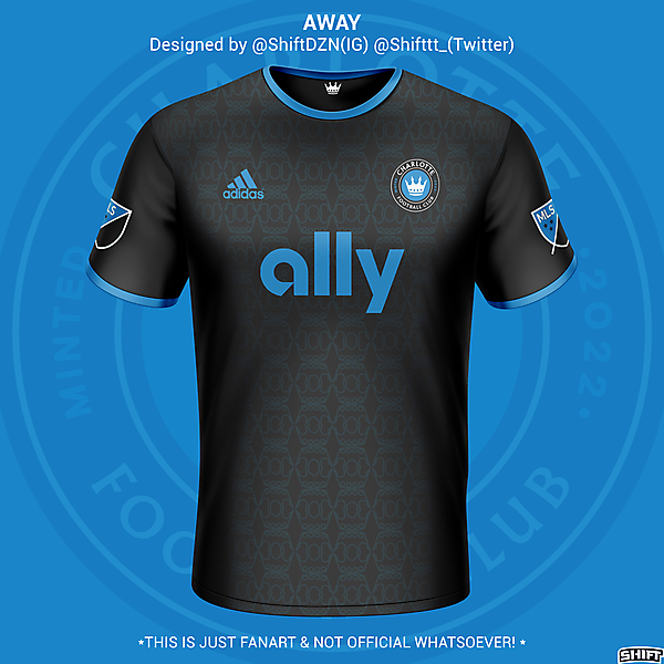 Charlotte FC Away Jersey Concept