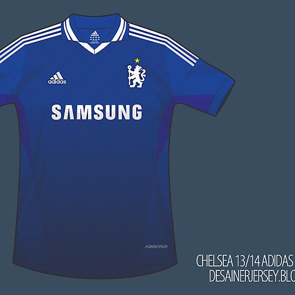 Chelsea 13/14 Fantasy Home Shirt