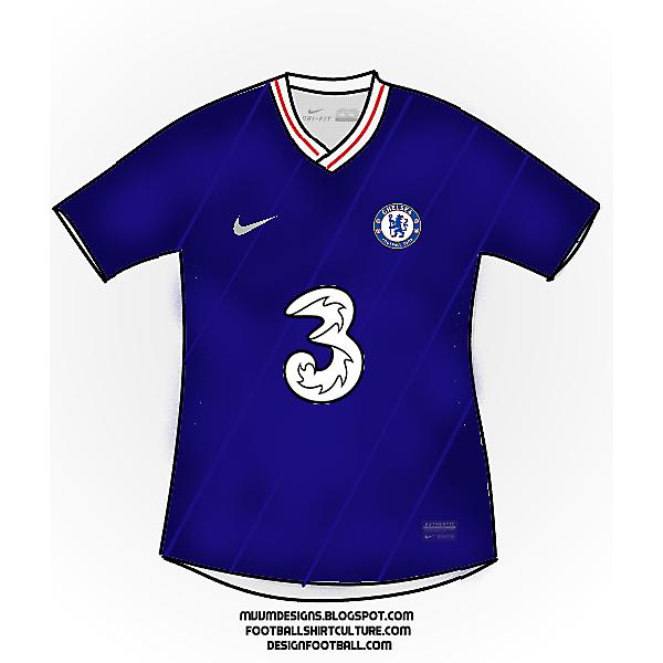 Chelsea 2020/21 Home kit Design Concept