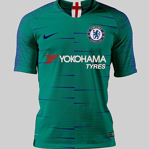 Chelsea away concept