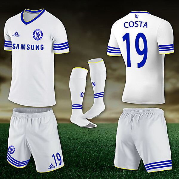 Chelsea Away fantasy kit