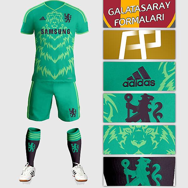 Chelsea Away Kit Design
