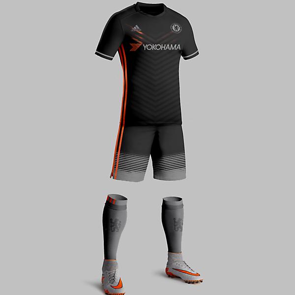 Chelsea FC Away Kit Design