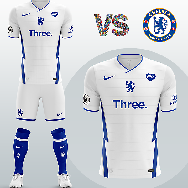 Chelsea FC Away kit with Nike (Concept 2020/21)
