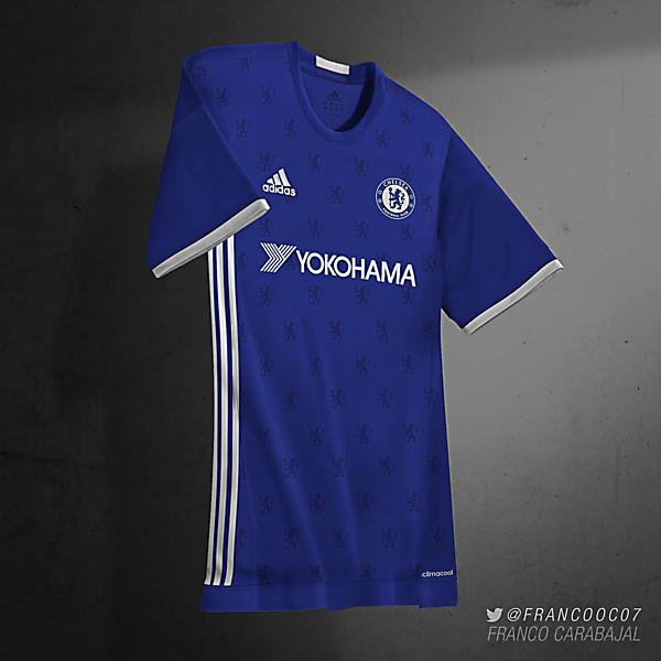 Chelsea FC Home 16/17 (predicción)