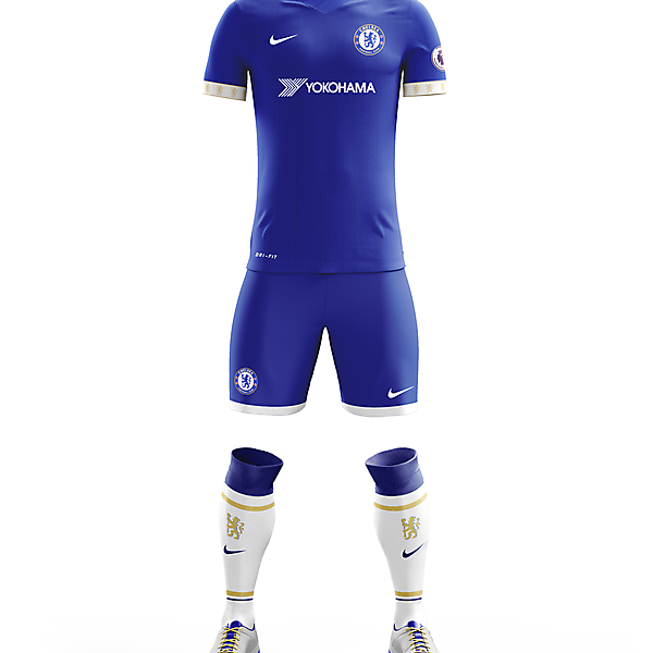 Chelsea F.C. Home Apparel for 2017/18 Season