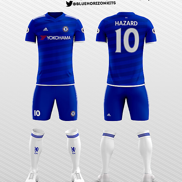 Chelsea FC Home Kit 2016-17 (Adidas)