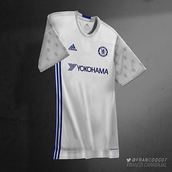Chelsea FC Third 16/17 (predicción)