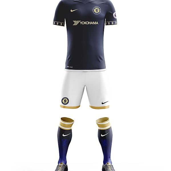 Chelsea F.C. Third Apparel for 2017/18 Season