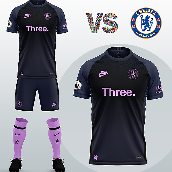 Chelsea FC Third kit with Nike (Concept 2020/21)