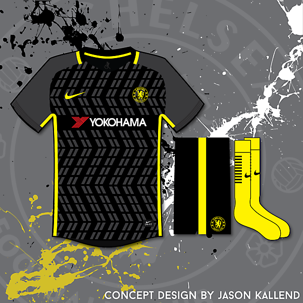 Chelsea Nike 3rd Concept