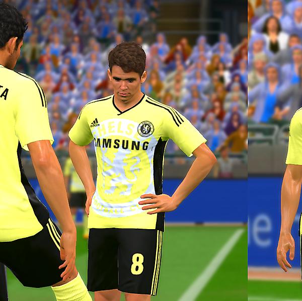 Chelsea yellow/black