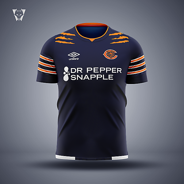 Chicago Bears crossover concept