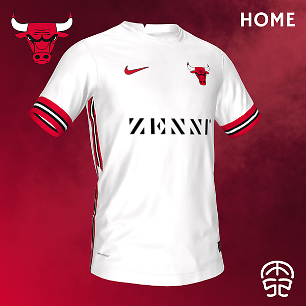 CHICAGO BULLS CONCEPT SOCCER HOME JERSEY
