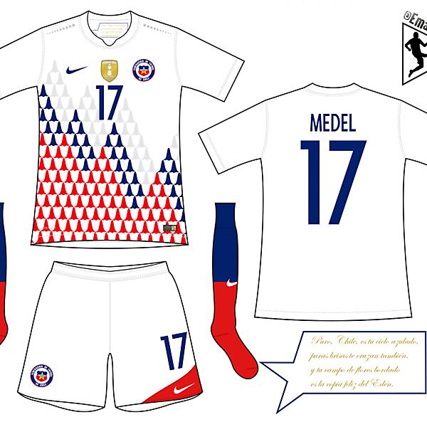 Chile - Away kit