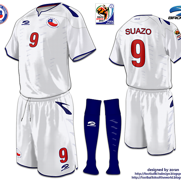 Chile World Cup 2010 fantasy away