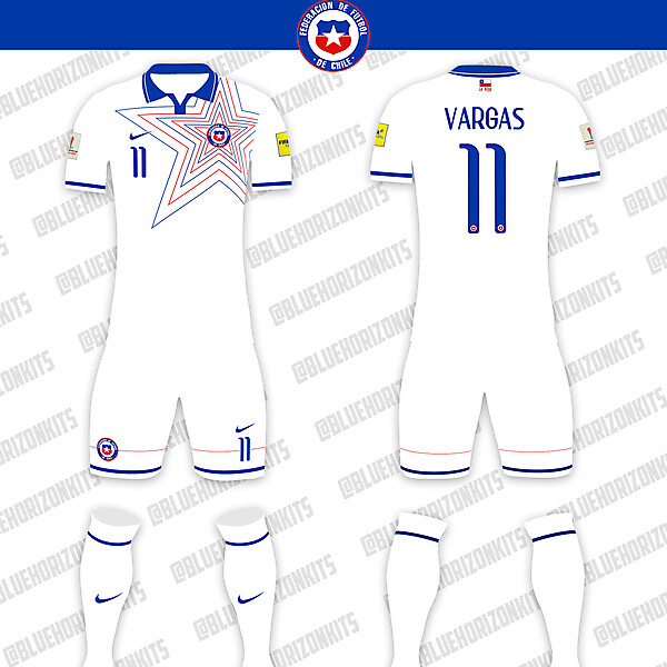 Chile National Team Away Kit