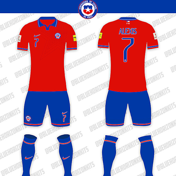Chile National Team Home Kit
