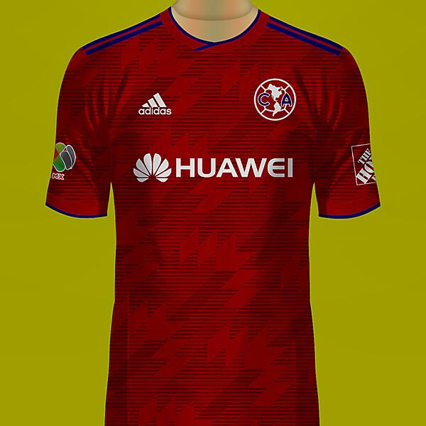 Club América de México Alterno Jersey Adidas