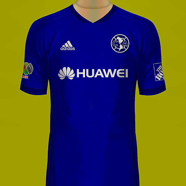 Club América de México Visitante Jersey Adidas