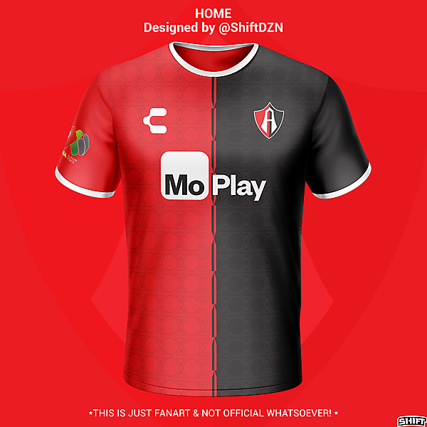 Club Atlas Home Jersey Concept