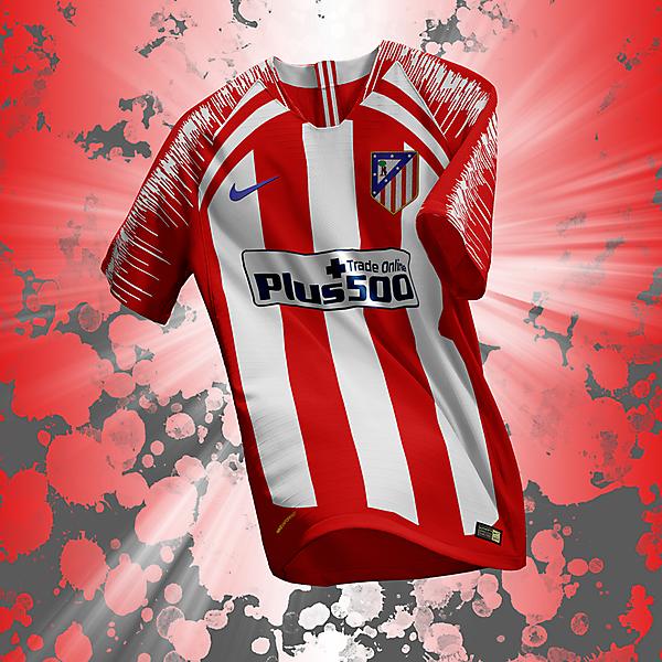 Club Atlético de Madrid home nike